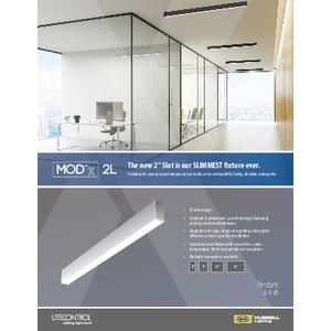 MODx 2L Sell Sheet