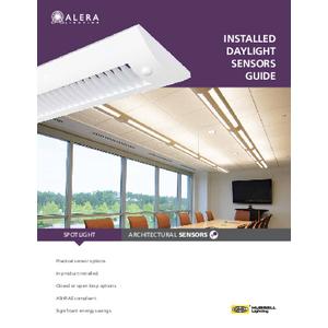 AL1072 – Installed Daylight Sensors Guide