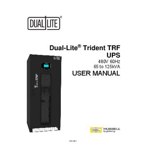 Trident 65-125kVA UPS User Manual