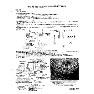BL-WG-16 / WG-16 (Wire Guard) Instruction Sheet