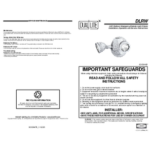 DLR Installation Manual
