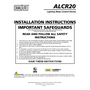 ALCR20 Relay Control Device Installation Manual