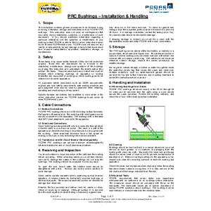 PRC Bushings - Installation & Handling