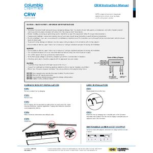 CRW Instruction Manual