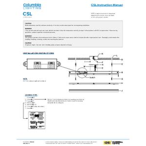 CSL Instruction Manual