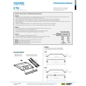 CTK Installation Sheet