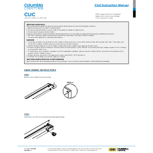 CUC Instruction Manual