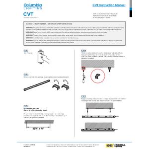 CVT Installation Sheet