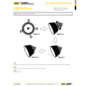 CRN Reflector Instruction Manual