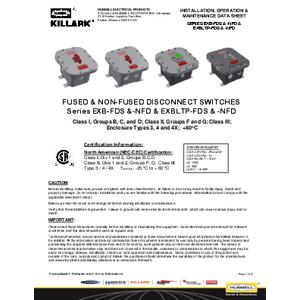 EXB/LT-FDS & NFD IOM K1517