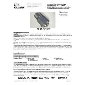 KBQA Series IOM K1461
