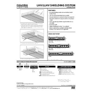 LHV Shielding System Instruction Sheet