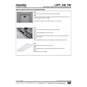 LZPT Surface Mount Installation Instructions