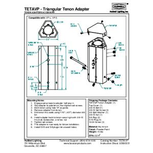 Triangular Tenon Adapter