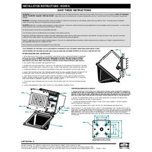 WGH-81L Instruction sheet