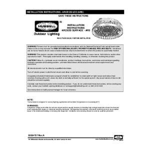 ARS Arceos instruction sheet