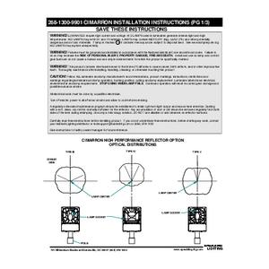 Cimarron CR1 Instructions