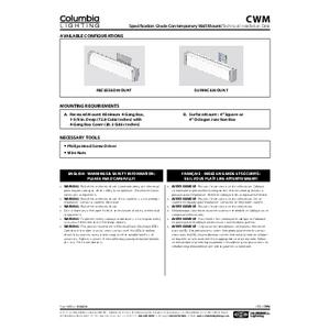 CWM Instruction Manual