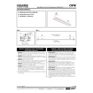 CWW Instruction Sheet