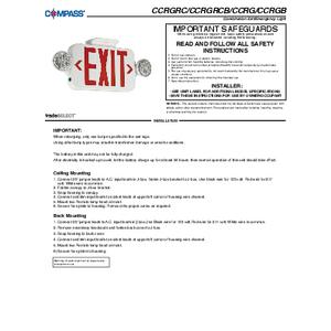 CC Instruction Sheet
