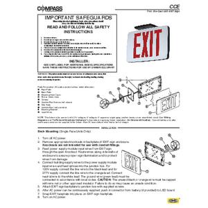 CCE Instruction Sheet