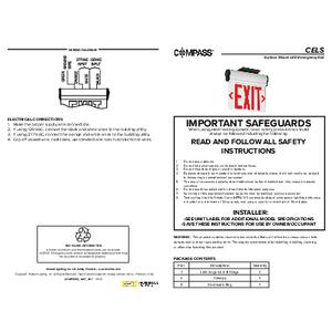 CELS Instruction Sheet