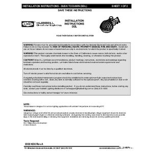 DDL Instruction Sheet