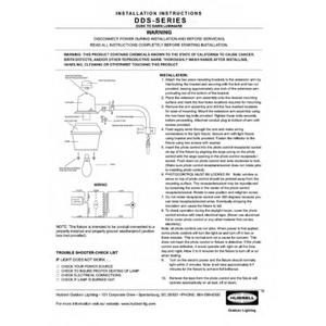 DDS Installation Instructions