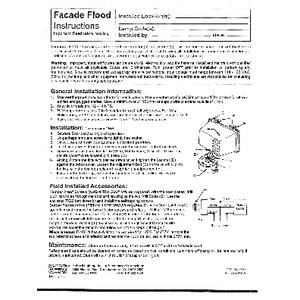 Facade Installation Instructions