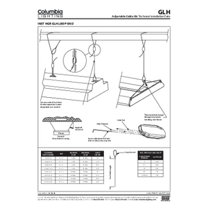 GLH Adjustable Cable Kit Instruction Sheet