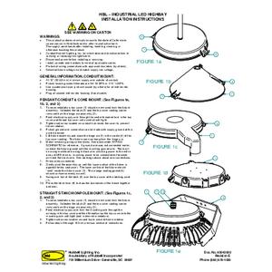HBL / HBLHA / HBLHO / HBLH Installation Manual