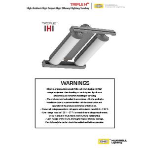 Triple H Installation Manual