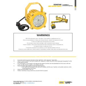 Dokstar™ Instruction Sheet
