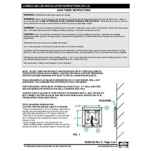 Laredo LMC18LED & LMC30LED instructions