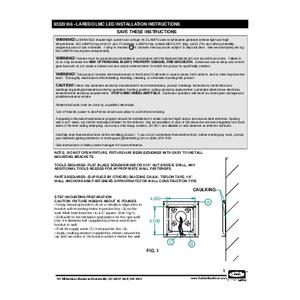 Laredo LMC LED Instructions