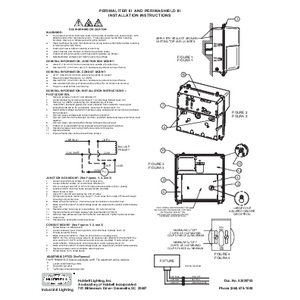 PGM3/PVL3 Instruction Sheets