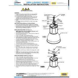 Mini LunaBay Instruction Sheet