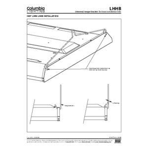 LHHB Universal Hanger Bracket Instruction Sheet