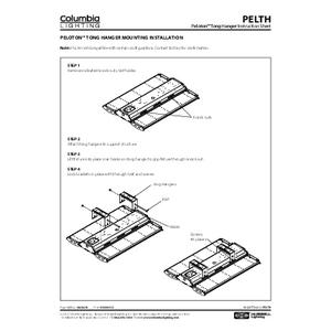 Peloton Tong Hanger Instruction Sheet