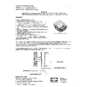 S9/S12 Fluorescent Installation Instructions
