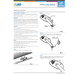 ArenaLED Instruction Sheet
