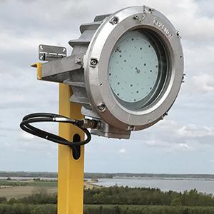 Wind farm Chalmit lighting solution