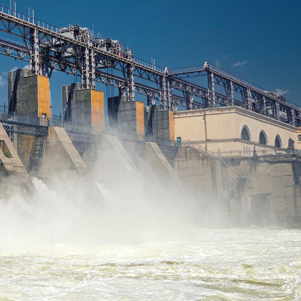 Hydro energy plant