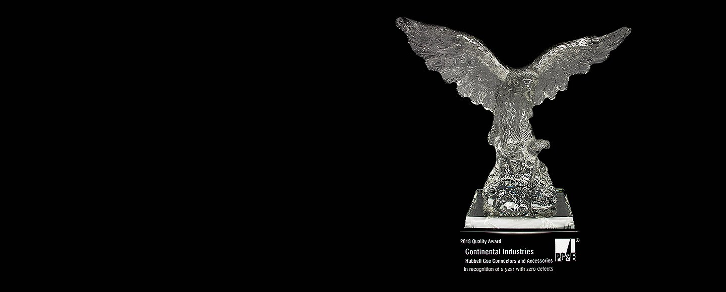 CONTINENTAL INDUSTRIES WINS THE ALPHA EAGLE AWARD