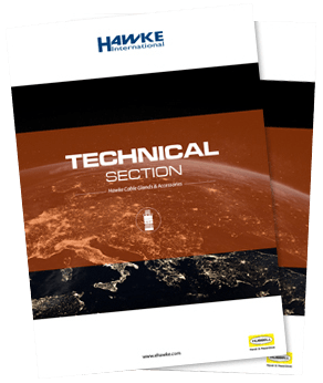 catalog cover image for Hawke technical section download