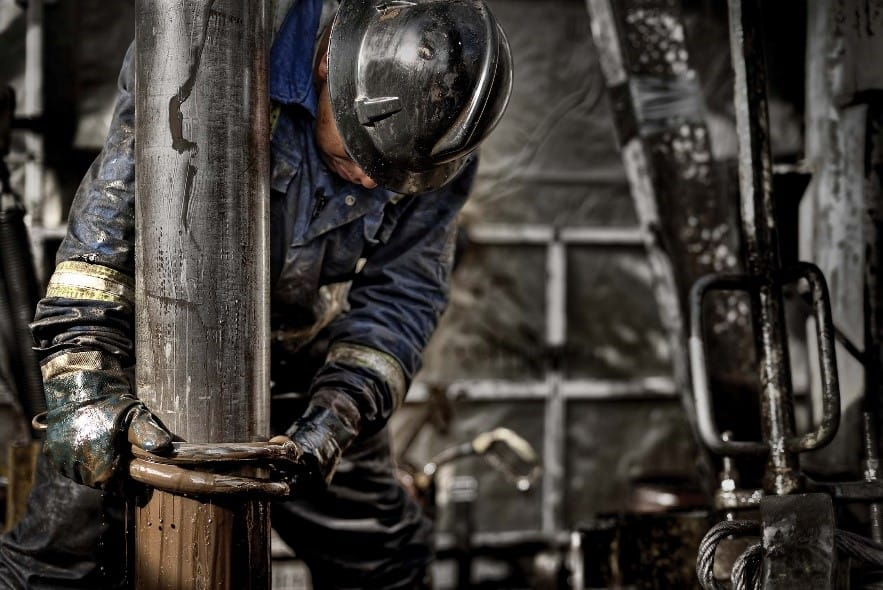 a man working in drilling industry