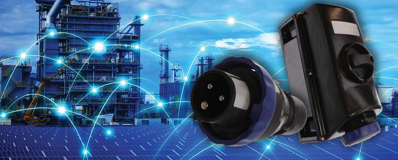 VSIH Series IEC-Style Non-Metallic Hazardous Rated Connectors