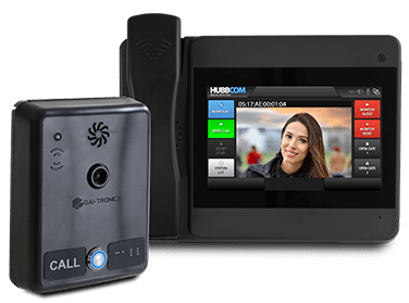 touchless access control video intercom