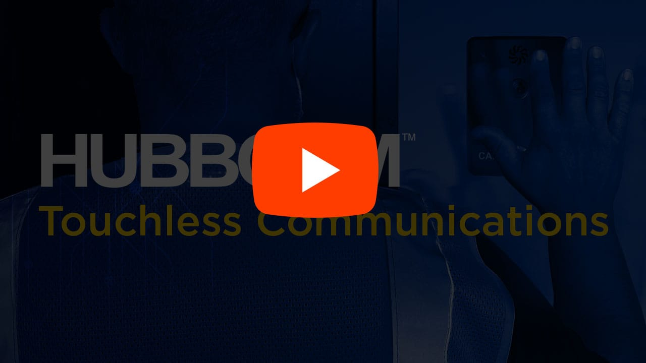 touchless access control video