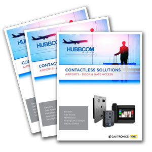 Contactless Solutions - Airports - Door & Gate Access